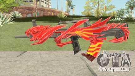 QBZ Iron Tiger pour GTA San Andreas