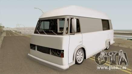 HotDog Campervan pour GTA San Andreas