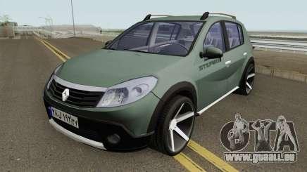 Renault Sandero StepWay für GTA San Andreas