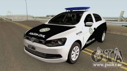 Volkswagen Voyage G6 PCERJ DPCA pour GTA San Andreas