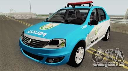 Renault Logan 2011 PMERJ pour GTA San Andreas