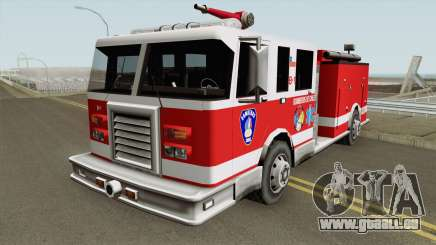 Chilean Firetruck für GTA San Andreas