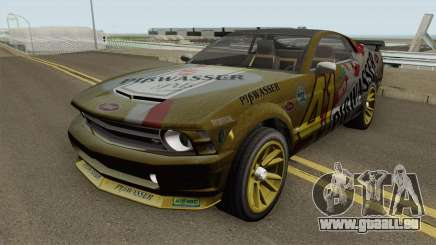 Ford Mustang GT Fastback PiBwasser pour GTA San Andreas