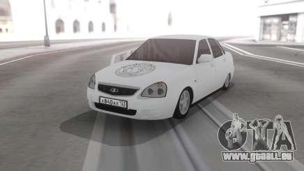Lada Priora Vinyle pour GTA San Andreas