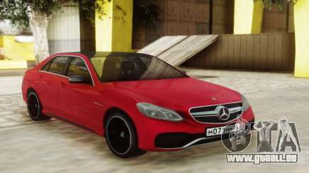 Mercedes-Benz E63 Sedan Red für GTA San Andreas