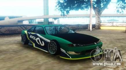 Nissan 200SX S14 Kouki Avol pour GTA San Andreas