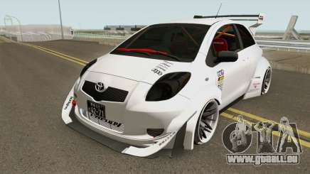 Toyota Yaris Burnok Speed pour GTA San Andreas