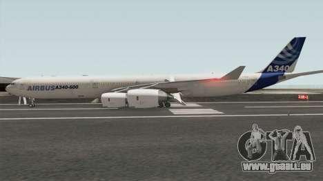 Airbus A340-600 pour GTA San Andreas