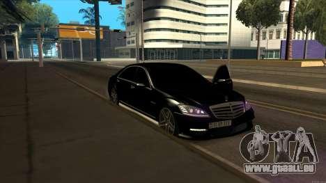 Mercedes-Benz S63 AMG [ARM] pour GTA San Andreas