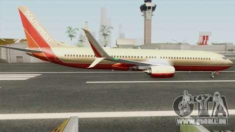 Boeing 737-800 Southwest Airlines (Desert Gold) pour GTA San Andreas