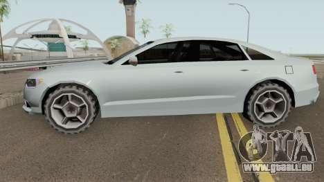 Audi A6 LQ V2 Tunable für GTA San Andreas