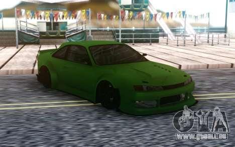 Nissan 200SX S14 Custom Wide pour GTA San Andreas