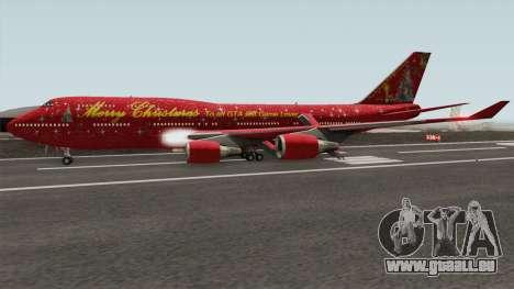 Boeing 747-400 Christmas pour GTA San Andreas