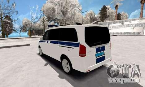 Mercedes Benz Vito Polizei für GTA San Andreas