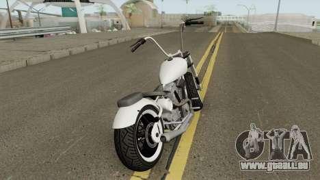 Western Motorcycle Zombie Chopper GTA V pour GTA San Andreas