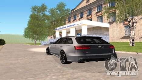 Audi RS6 C7 2017 pour GTA San Andreas