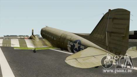 Douglas C-47 Skytrain pour GTA San Andreas