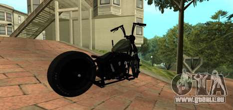 Harley Davidson 110cid Night Train pour GTA San Andreas
