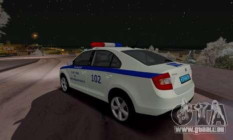 Skoda Rapid DPS pour GTA San Andreas