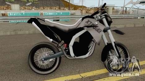 Yamaha XT660r Leve pour GTA San Andreas