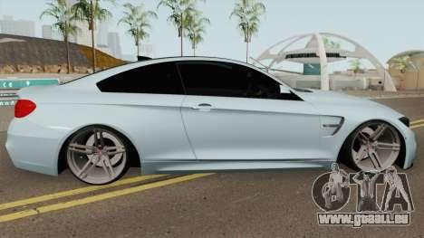 BMW M4 2014 SlowDesign (Black Wheels) für GTA San Andreas