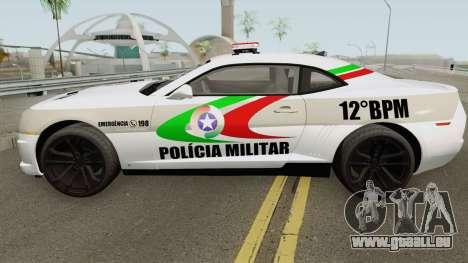 Chevrolet Camaro PMSC pour GTA San Andreas