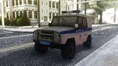 UAZ 31512 de la Police pour GTA San Andreas