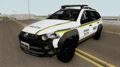 Fiat Palio Weekend Brazilian Police (White)