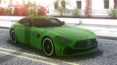Mercedes-Benz AMG GT R 2017 Green pour GTA San Andreas