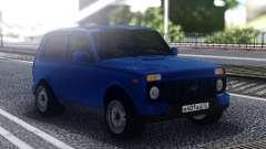 Niva Urban Blue pour GTA San Andreas