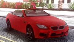 BMW M6 F12 Red pour GTA San Andreas