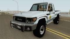 Toyota Land Cruiser Bajos Recursos für GTA San Andreas