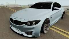 BMW M4 2014 SlowDesign (Black Wheels) pour GTA San Andreas
