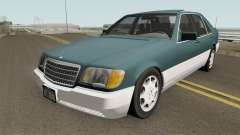 Mercedes-Benz S-Class (W140) 300SD 1992 US-Spec für GTA San Andreas