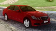 Mercedes-Benz E500 W212 Red für GTA San Andreas