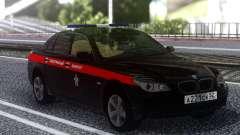 BMW M5 E60 le Comité d'Enquête de la Fédération