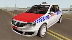 Renault Logan Taxi Florianopolis für GTA San Andreas