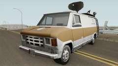 Newsvan Van Reportagem (Emissoras BR) TCGTABR pour GTA San Andreas