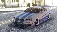 Nissan Skyline R34 FnF