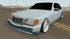 Mercedes S-Klasse W140 1991 SlowDesign pour GTA San Andreas