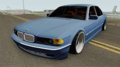BMW E38 750iL SlowDesign 1999 pour GTA San Andreas
