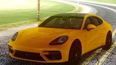 Porsche Panamera Yellow pour GTA San Andreas