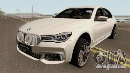 BMW M760Li xDrive 2017 pour GTA San Andreas