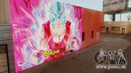 DBS Super Saiyan Blue Goku für GTA San Andreas