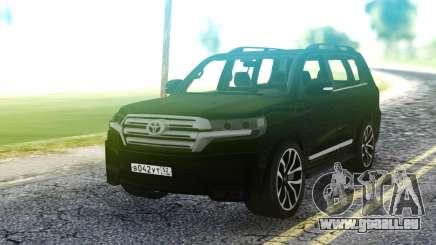 Toyota Land Cruiser Black pour GTA San Andreas