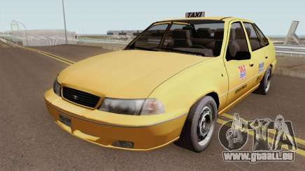 Daewoo Cielo Taxi Colombiano pour GTA San Andreas