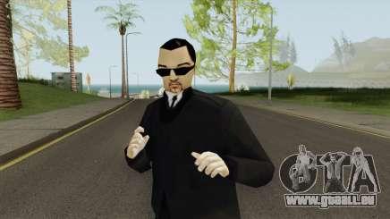 Leone Mafia (GTA III) With Glasses pour GTA San Andreas