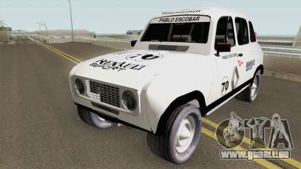 Renault 4 Rally of Pablo Escobar Series für GTA San Andreas