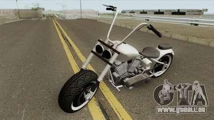 Western Motorcycle Zombie Chopper GTA V für GTA San Andreas