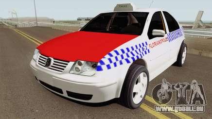 Volkswagen Bora Taxi Florianopolis pour GTA San Andreas